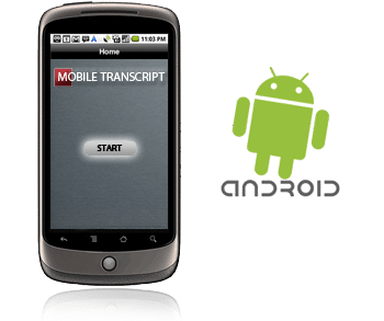 Get Mobile Transcript Android App