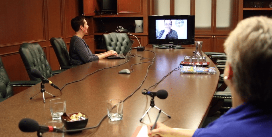 Bridging Communication Gaps via Videoconferencing